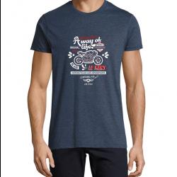 T-Shirt Men Race chiné...