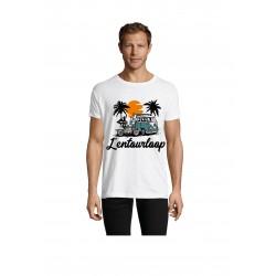 T-Shirt Men Malibu White
