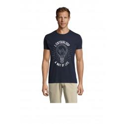 T-Shirt Men Light Navy