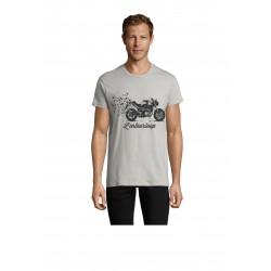 T-Shirt Men Birdy Pure Grey