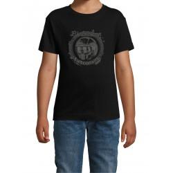 T-Shirt Kid Mask Black