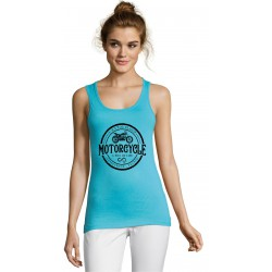 Top Lady Patch Turquoise