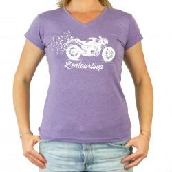 T-Shirt Chiné Lady Birdy...