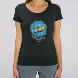 T-Shirt Lady Beach noir