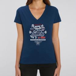 T-Shirt Lady chiné Race...