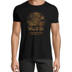T-Shirt Men Travel noir