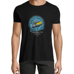 T-Shirt Men Beach noir